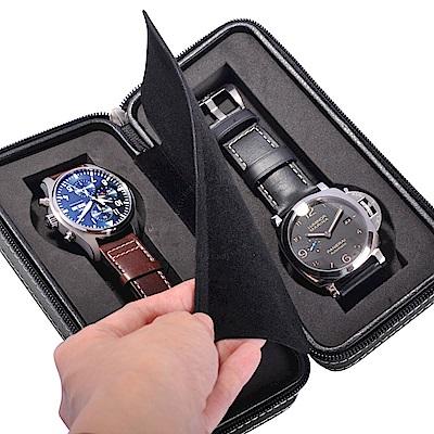 腕錶旅行用高級真皮收納盒
