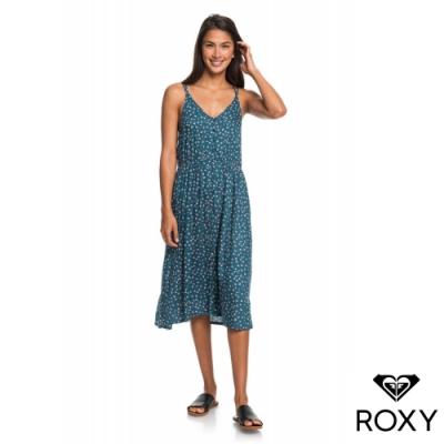 【ROXY】MY WAY TO COAST 洋裝 藍綠色