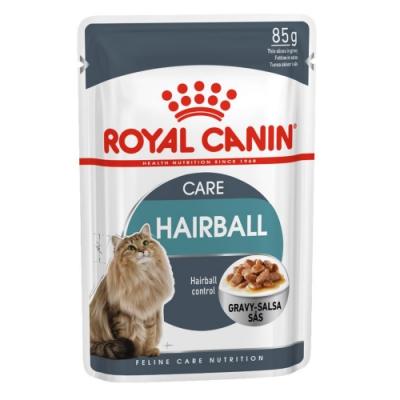 Royal Canin法國皇家 IH34W化毛貓專用濕糧 85g 12包組