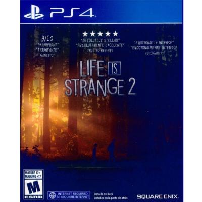 奇妙人生 2 Life is Strange 2 - PS4 中英文美版