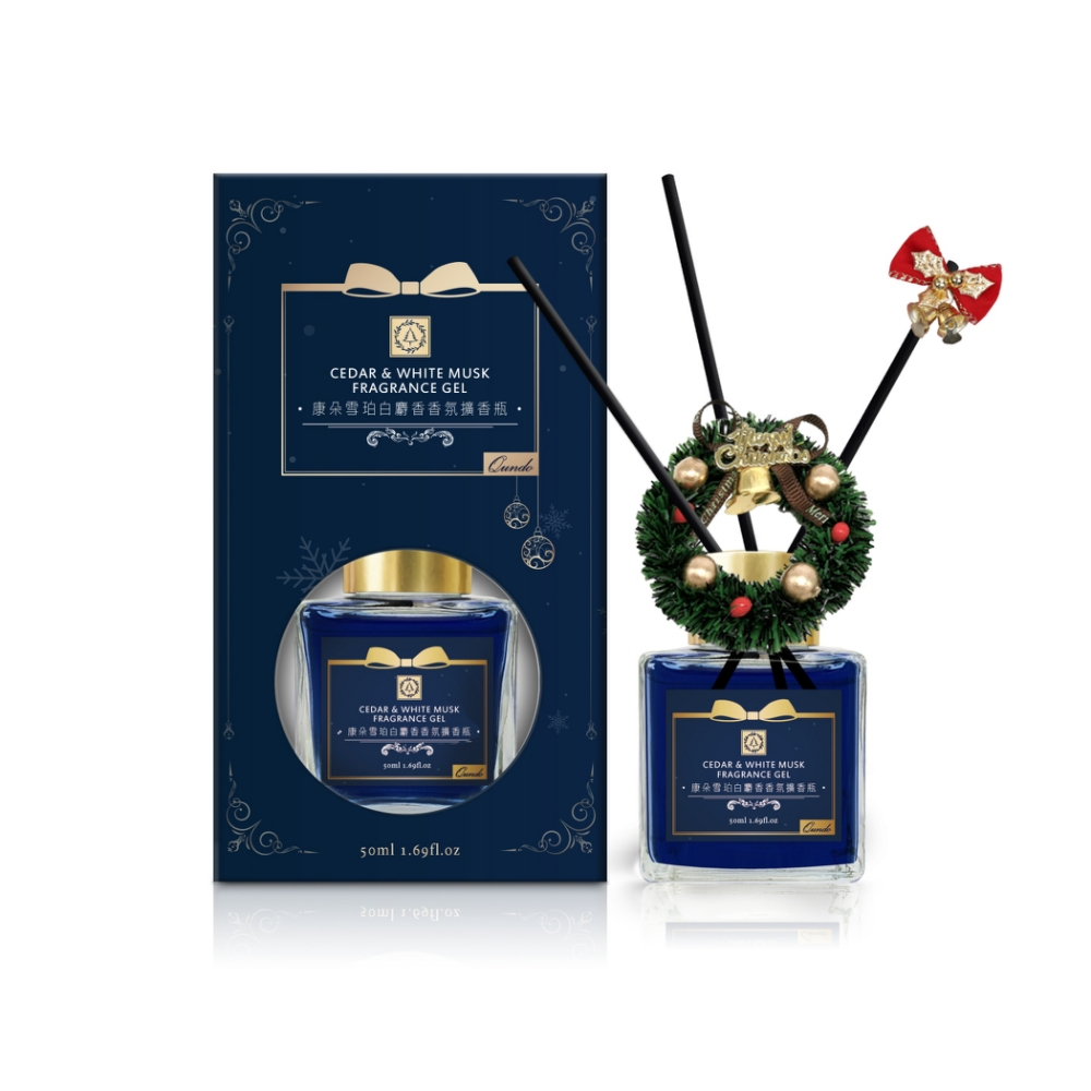 (聖誕限定)康朵雪珀白麝香香氛擴香瓶 4入 1入50ML