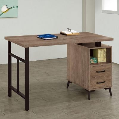 MUNA 奧蘿拉古橡木色4尺書桌 120X60X81cm
