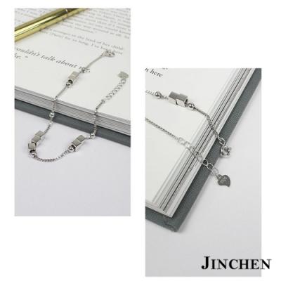 JINCHEN 純銀方塊手鍊