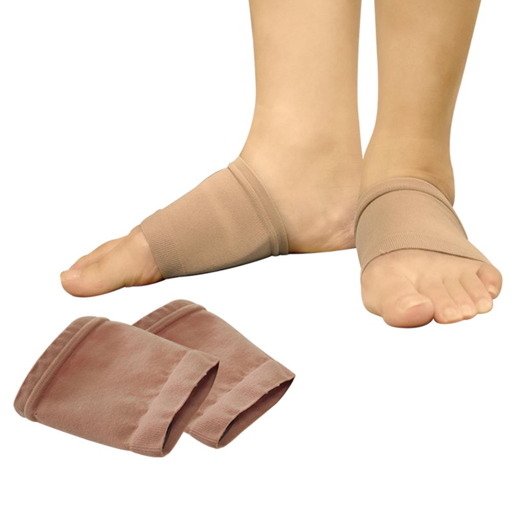 足護士 Foot Nurse 足底筋膜足弓凝膠支撐分壓襪套/護套~2雙