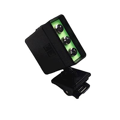 金德恩 台灣製造 mini LED廣角型超高亮度萬用夾燈