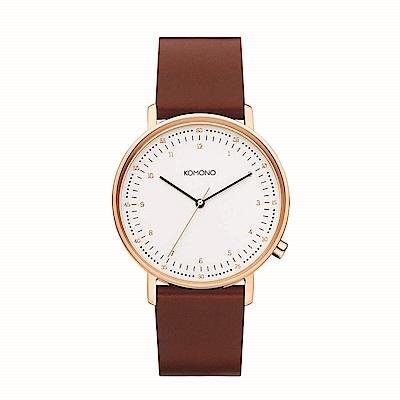 KOMONO Lewis 腕錶-奧本/40mm
