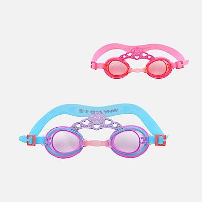 WHY AND 1/2 皇冠造型泳鏡-抗UV/防霧 多色可選