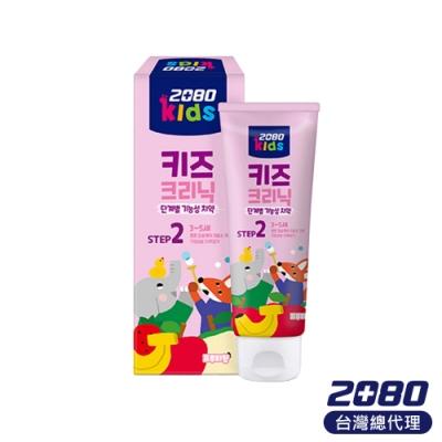 韓國2080 第二階段強健護理低氟兒童牙膏80g