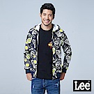 LEE X SMILEY聯名滿版印花連帽開襟外套