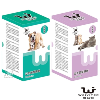 WEIYITER 維益特 犬貓用益生菌整腸劑 300g