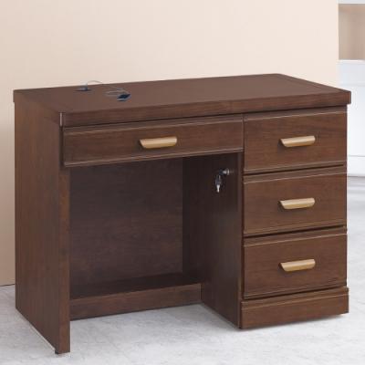 AS-薇拉3.5尺實木書桌-105x59x82cm