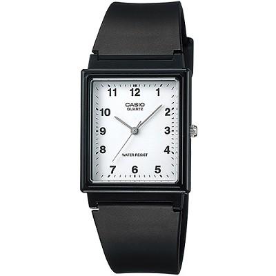 CASIO 簡約時尚風格基本搭配款腕錶-白X數字刻(MQ-27-7B)/24mm