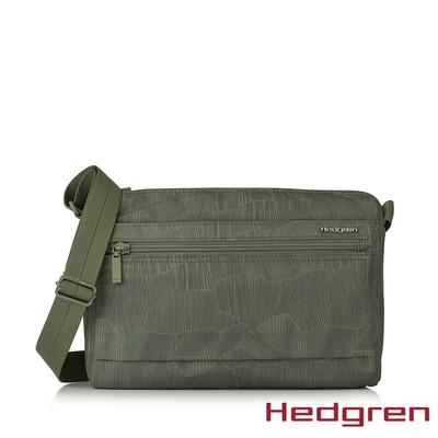 Hedgren INNER CITY輕量經典 M 側背包 竹葉綠
