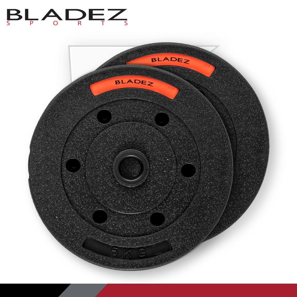 【BLADEZ】BD1 環保無毒槓片-5KG(二入組)
