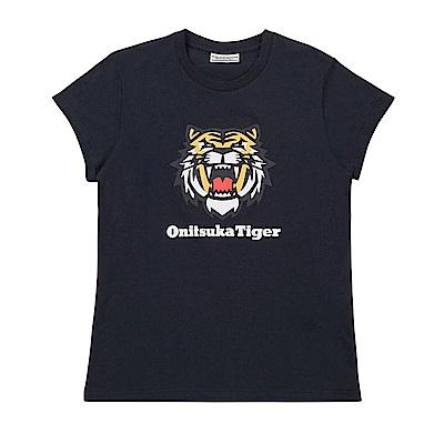Onitsuka Tiger鬼塚虎-女短袖上衣 2182A287-001