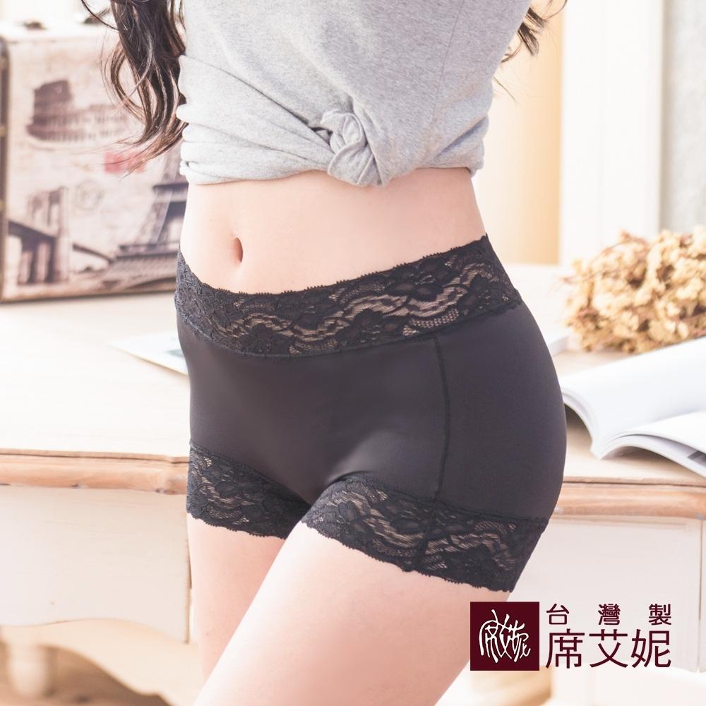 席艾妮SHIANEY 台灣製造(5件組)中腰蕾絲內褲 平口 無痕