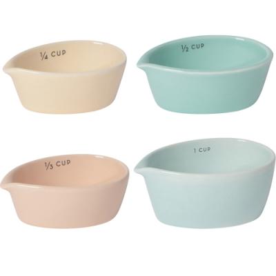 《NOW》陶製調理碗4件(粉雲)