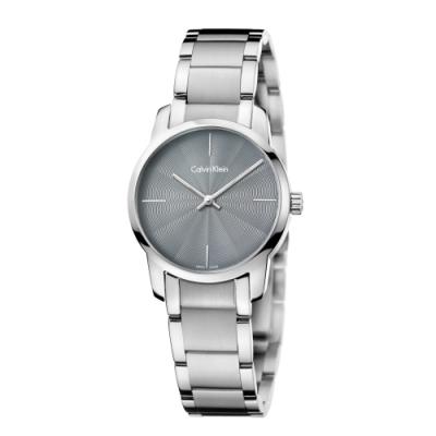 Calvin Klein CK極簡質感三針腕錶(K2G23144)31mm