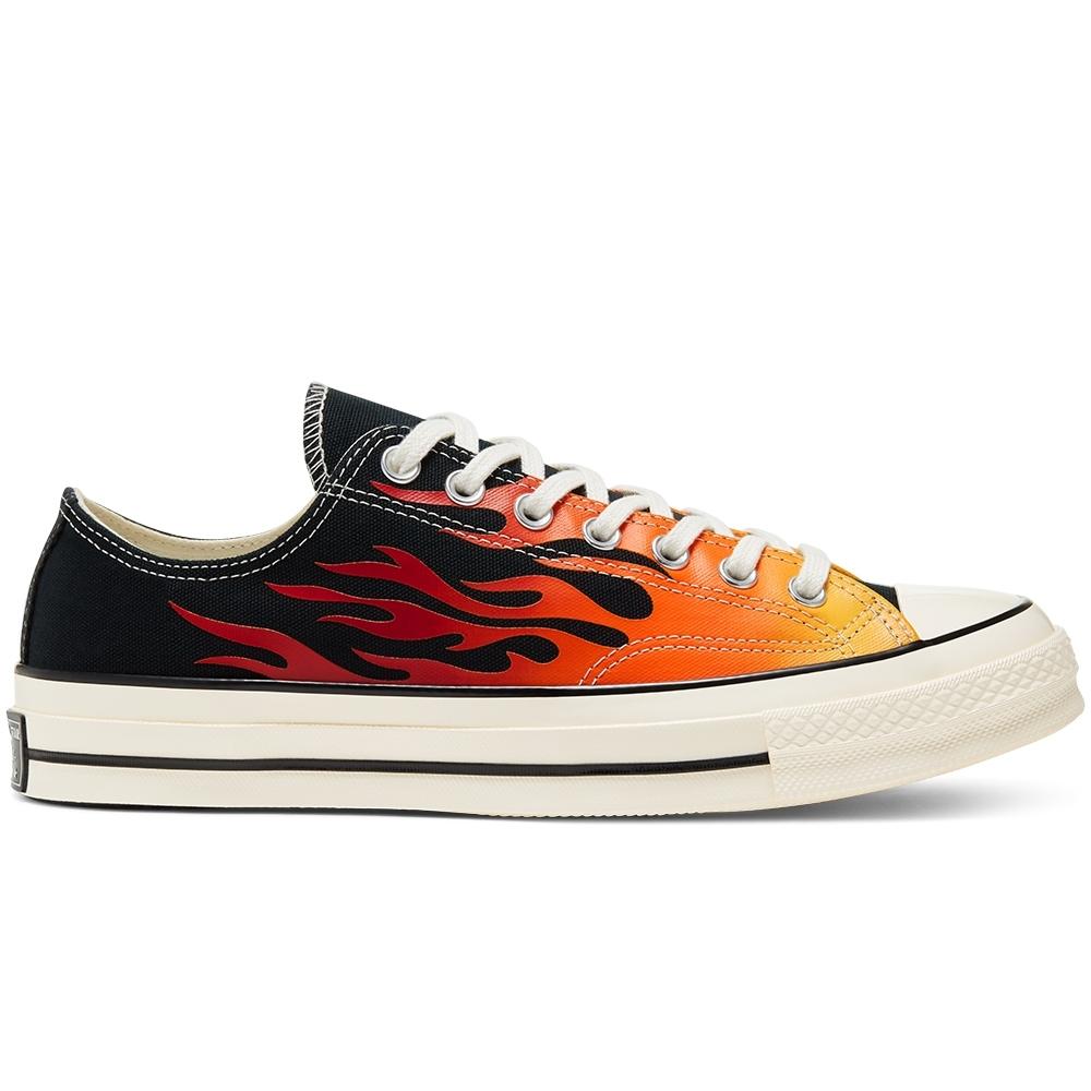 CONVERSE CHUCK 70 OX 低筒休閒鞋 中 火焰黑 167813C