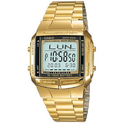 CASIO 金色風暴復刻電子錶(DB-360G-9A)/27.5mm