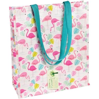 《Rex LONDON》環保購物袋(紅鶴)