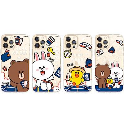 """GARMMA LINE FRIENDS iPhone 12 mini (5.4"""")保護軟殼"""