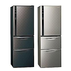 [館長推薦]Panasonic國際牌 385L 1級變頻3門電冰箱 NR