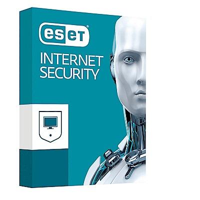 ESET INTERNET SECURITY 網路安全套裝 3年5用戶