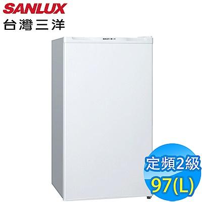 SANLUX台灣三洋 97L 2級定頻單門電冰箱 SR-B97A5 獨家買斷
