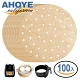 Ahoye 木漿無漂白烘焙紙(圓形8吋-20cm) 100張入 氣炸鍋/蒸籠紙(快) product thumbnail 1