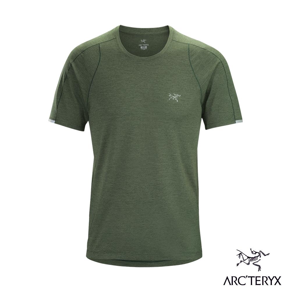 Arcteryx 始祖鳥 男 Cormac 快乾短袖圓領衫 葉綠 @ Y!購物