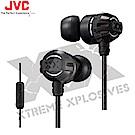 【JVC】 美國極限重低音升級版入耳式耳機 (附麥克風) HA-FX33XM