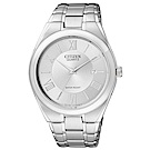 CITIZEN 時光旅的戀人石英腕錶(BI0950-51A)-銀x39mm