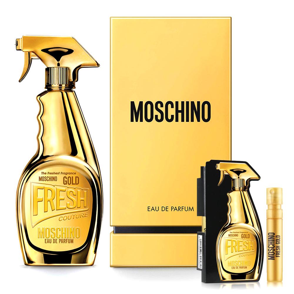 Moschino 亮金金女性淡香精 30ml+隨機針管