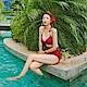 AH-dream夢想女孩-兩件式-紅-比基尼泳裝