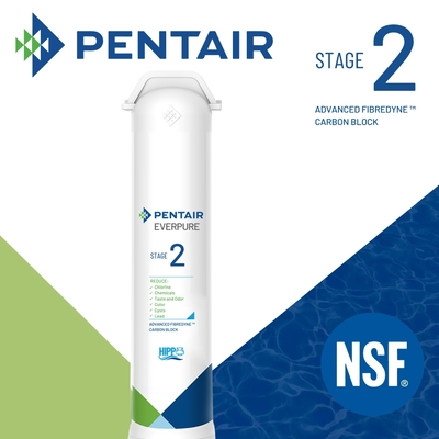 【Pentair】加強版濕鑄纖維活性碳濾心(Stage 02)