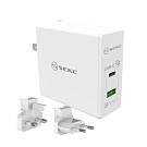 SEKC PD旅充系列 USB-C+QC3.0(60W國際版)