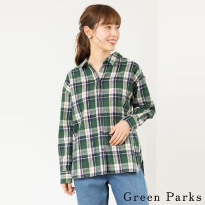 Green Parks 格紋休閒襯衫