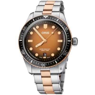 Oris豪利時 Divers Sixty-Five日期錶 0173377074356-0782017