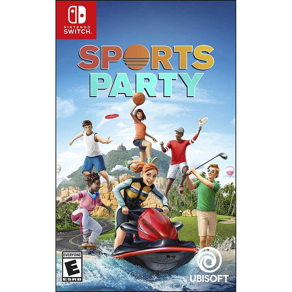運動派對 Sports Party - NS SWITCH 中英文美版