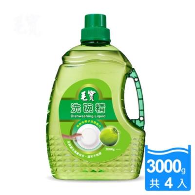 毛寶 洗碗精-椰子油醇配方(3000gx4入/箱)
