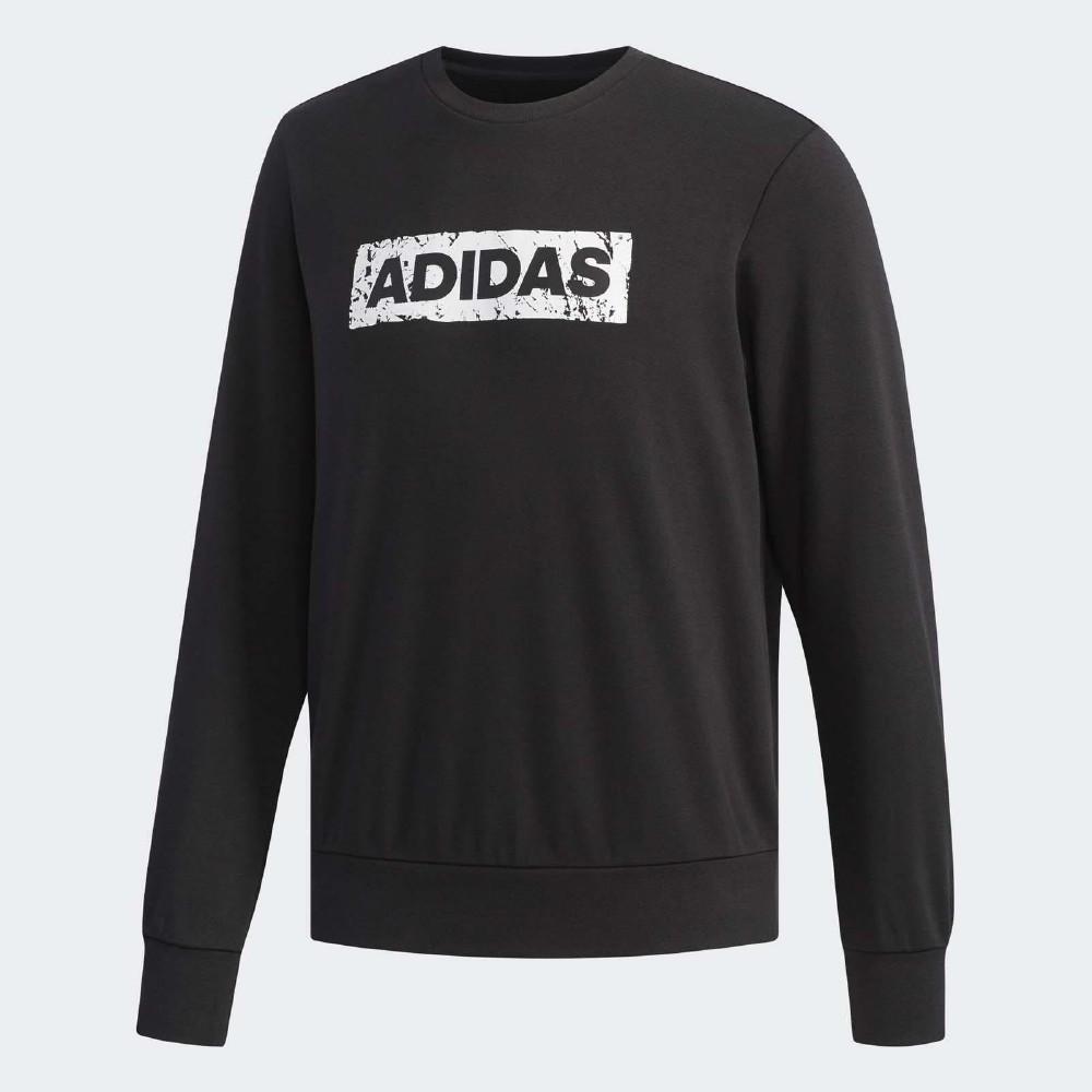 adidas 大學T Crew SWT Logo 男款