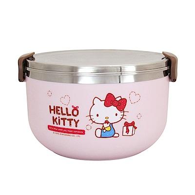 Hello Kitty不鏽鋼隔熱餐盒1L