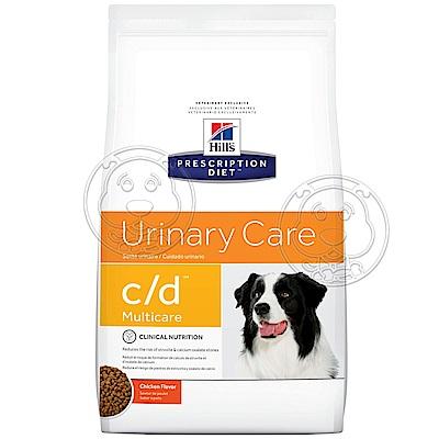 美國Hills希爾思》犬處方c/d膀胱健康Multicare-8.5LB(3.85KG)