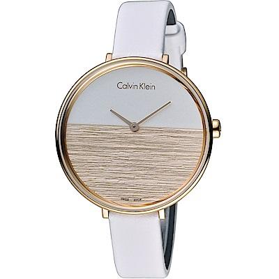 Calvin Klein K7A rise 晨曦系列 時尚腕錶(K7A236LH)