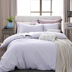 LASOL睡眠屋-100%奧地利天絲 單人兩用被床包三件組自然純色薰衣草灰