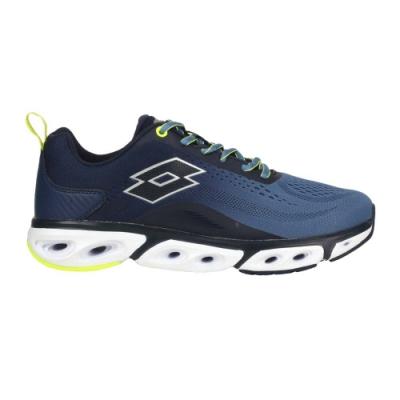 LOTTO 男風動慢跑鞋-路跑 運動 健走鞋 避震 透氣 LT0AMR2136 珊瑚藍丈青