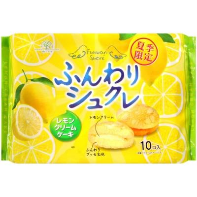 柿原 鬆軟檸檬奶油風味夾心蛋糕(140g)