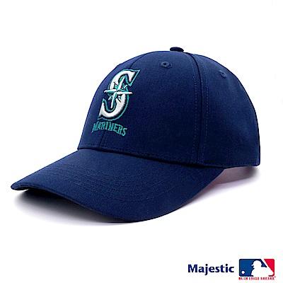 MLB-水手隊可調式經典復古老帽