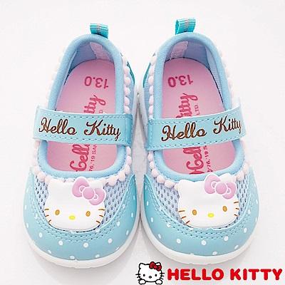 HelloKitty童鞋 毛球點點休閒鞋款 SE19806水(小童段)
